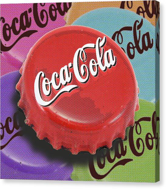 Coca-cola Cap Canvas Print