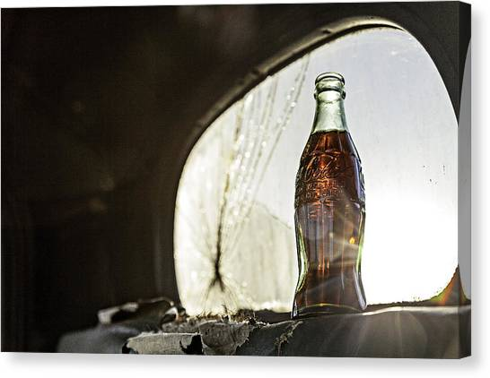 Coca-cola In The Light Of Day 2 Canvas Print
