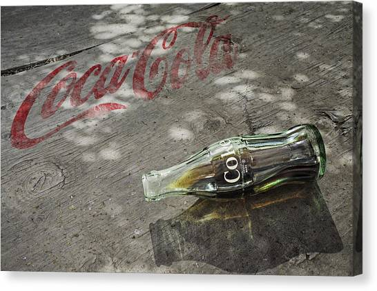 Coca-cola Loved All Over The World 6 Canvas Print