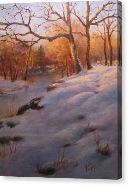 Cocalico Snow Canvas Print