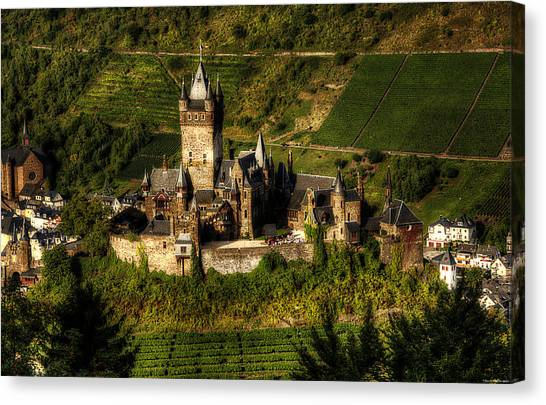 Cochem Castle Canvas Print