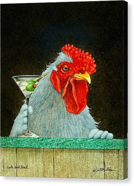 Cock And Load... Canvas Print