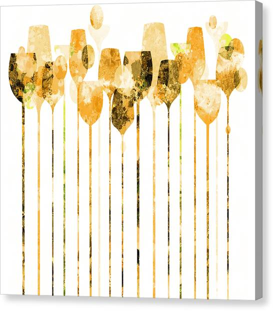 Cocktail Hour 4 Canvas Print