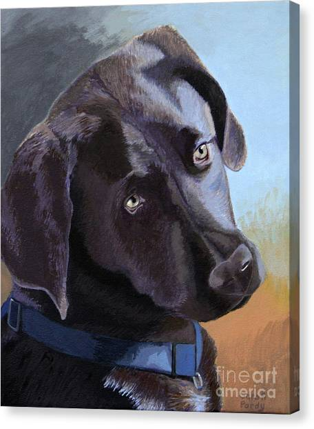 Coco's Portrait Canvas Print