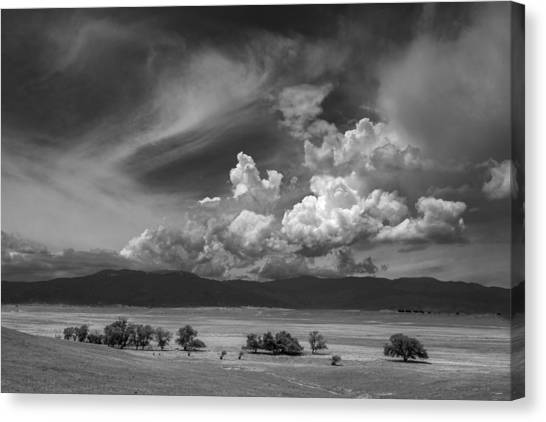 Big Sky Canvas Print - Coda by Peter Tellone