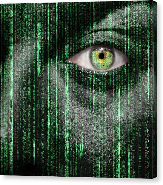 Nsa Canvas Print - Code Breaker by Semmick Photo