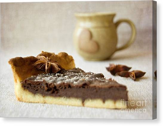 Coffee And Cake Canvas Print