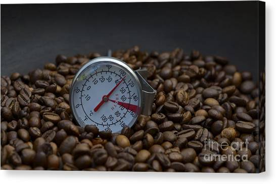 Coffee And Meter  Canvas Print by Bobby Mandal
