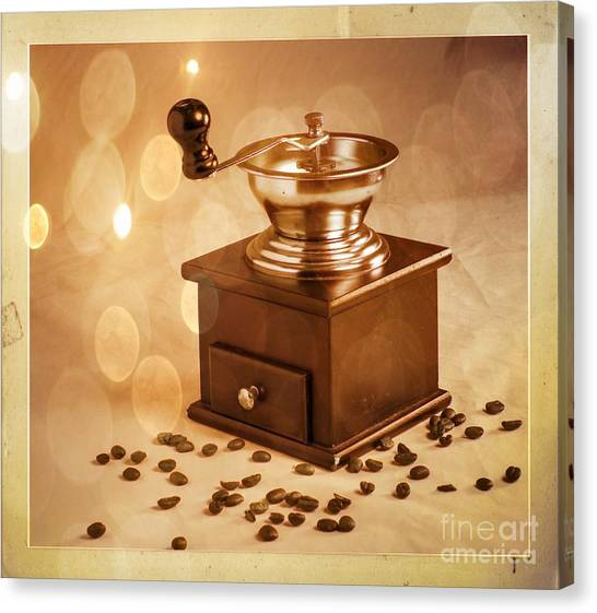 Coffee Grinder 2 Canvas Print by Donald Davis