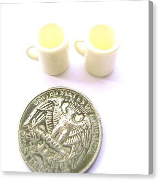 Sweet Tea Canvas Print - Coffee Mugs Cups by Futoshi Takami