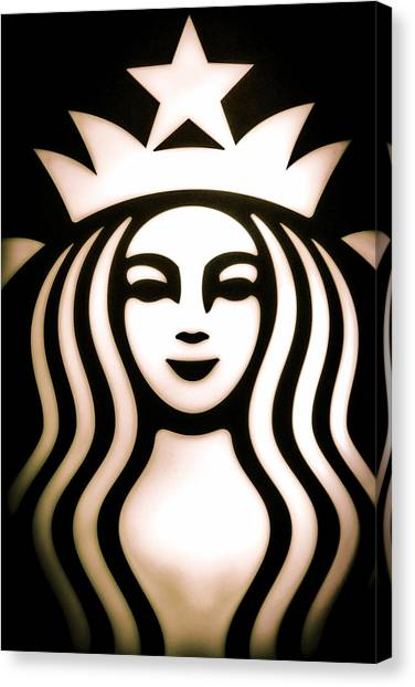 Coffee Queen Canvas Print
