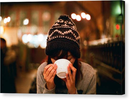 Coffee Time Canvas Print by Photography By Bert.design