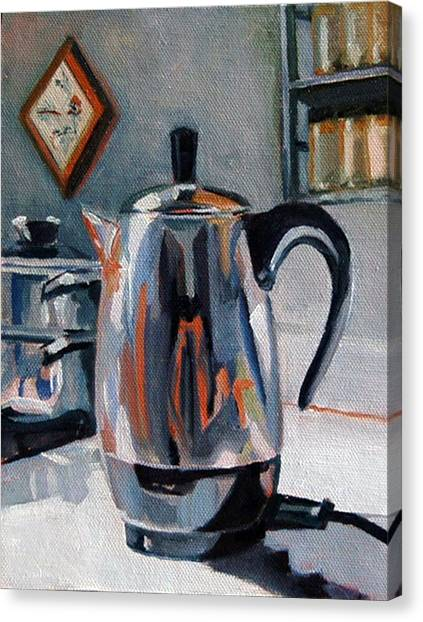 Coffeepot Canvas Print