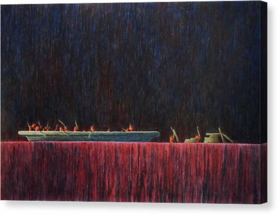 Coffer Canvas Print