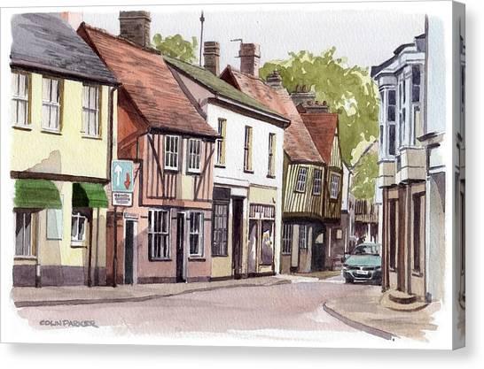 Coggeshall Canvas Print
