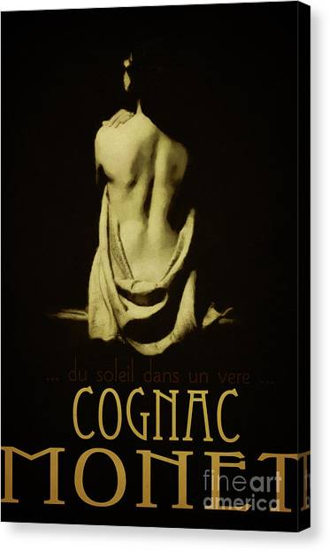 Cognac Canvas Print - Cognac Monet by Cinema Photography