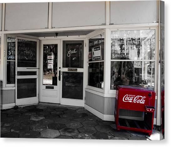 Coke Canvas Print
