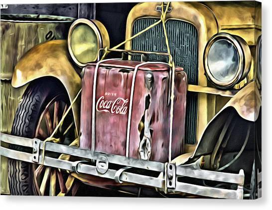 Cola Road Trip 2 Canvas Print
