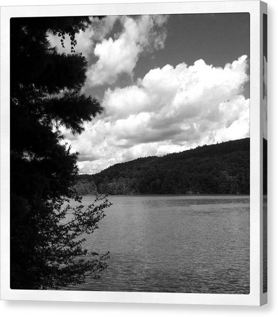 Vermont Canvas Print - Colchester Pond by Andy Martin