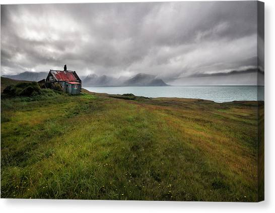 View Canvas Print - Cold And Damp by ??orsteinn H. Ingibergsson