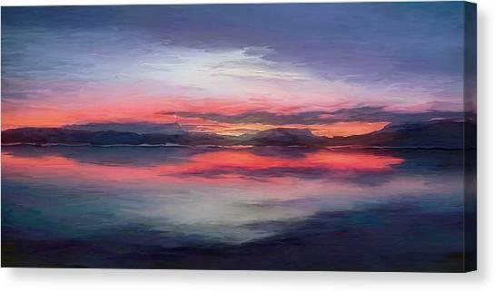 Cold Bay Canvas Print