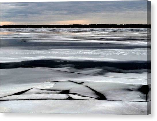 Cold Colour Wash 2 - Canada Canvas Print