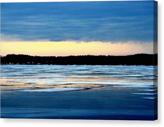 Cold Colour Wash 3 - Canada Canvas Print