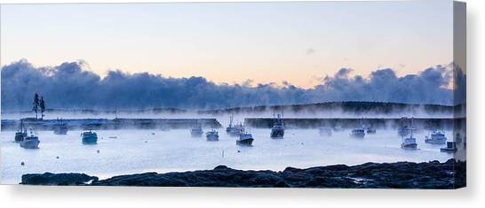 Cold New England Day  Canvas Print