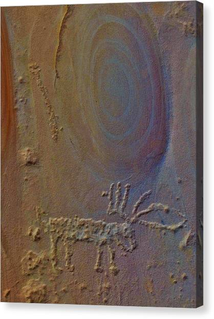 Cold Springs Rock Art Canvas Print