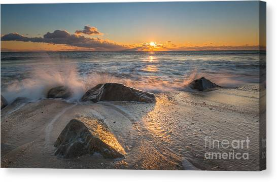 Mv Canvas Print - Cold Sunrise by Michael Ver Sprill