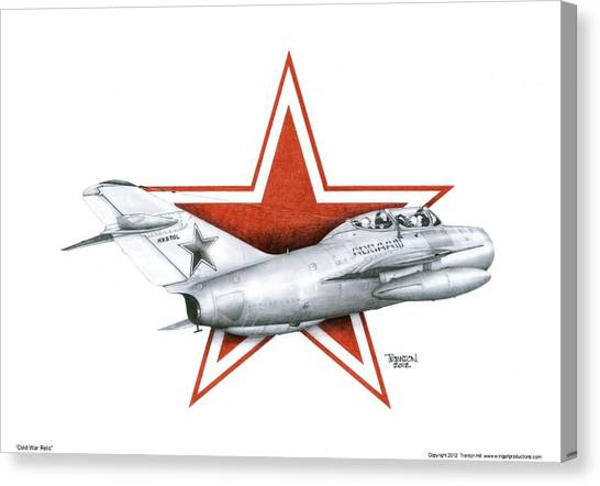 Cold War Relic Canvas Print by Trenton Hill