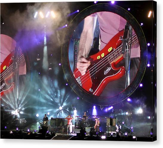 Coldplay Canvas Print - Coldplay - Sydney 2012 by Chris Cousins