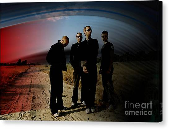 Coldplay Canvas Print - Coldplay by Marvin Blaine