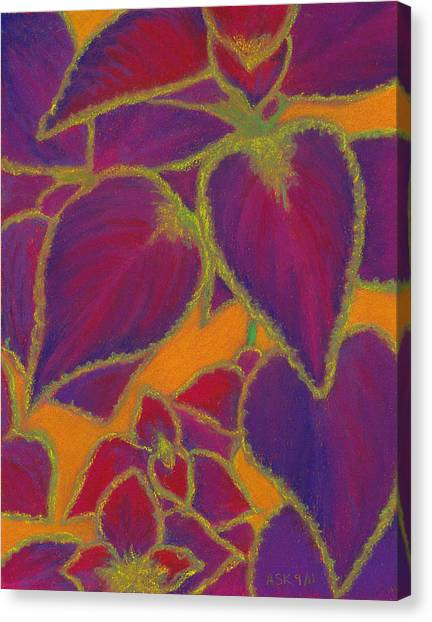 Coleus Gone Wild Canvas Print