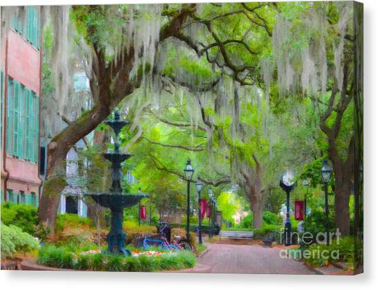 College Of Charleston Canvas Print