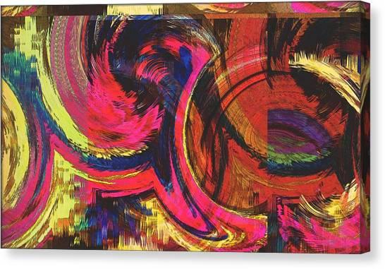 Collide  Canvas Print by Kiara Reynolds