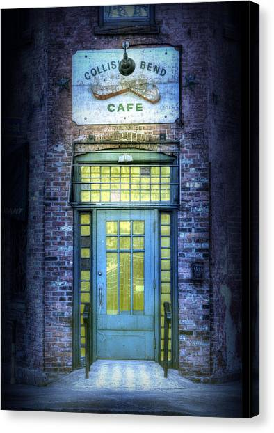 Collision Bend Cafe-cleveland Canvas Print