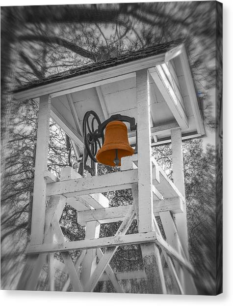Coloma Church Bell Canvas Print