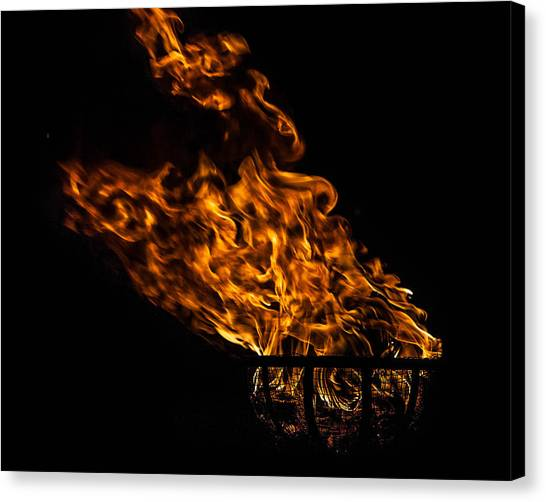 Fire Cresset Canvas Print