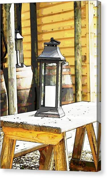 Colonial Light Canvas Print