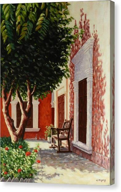 Colonial Patil,peru Impression Canvas Print