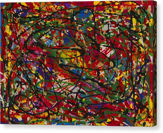 Color 1 Canvas Print by Patrick OLeary