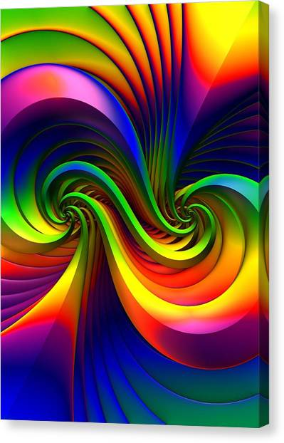 Color Circus Canvas Print