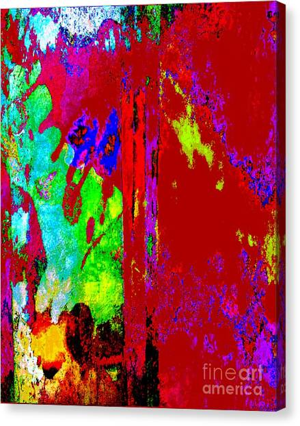 Color Experiment Canvas Print