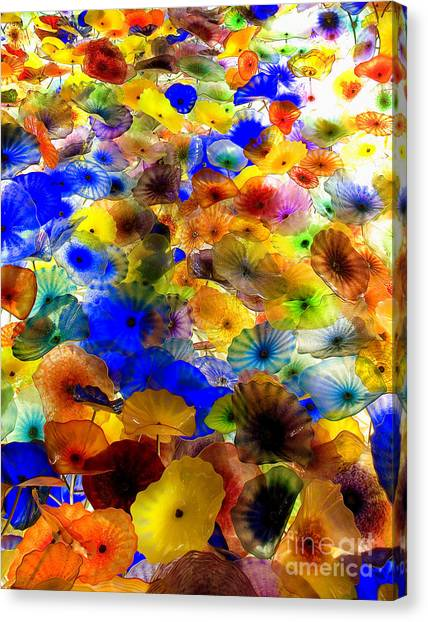 Glass Palette  Canvas Print