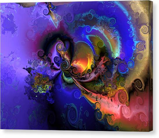Color Gone Amok Canvas Print