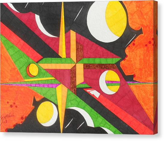 Color In Time Canvas Print by Willie McNeal