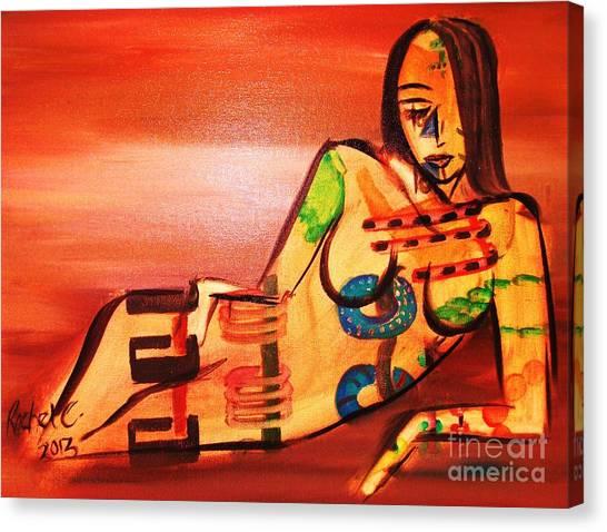 Color Me Crazy Canvas Print