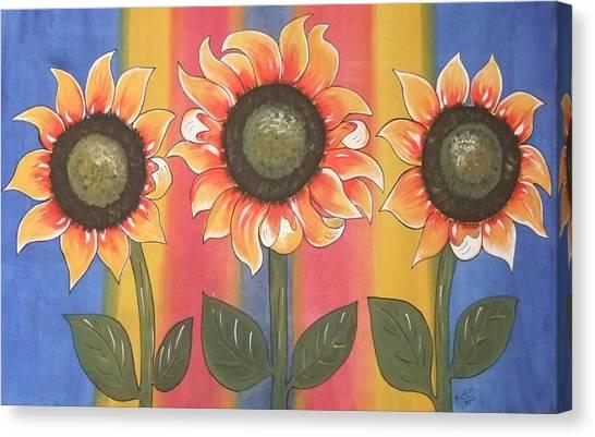 Color Me Sunny Canvas Print
