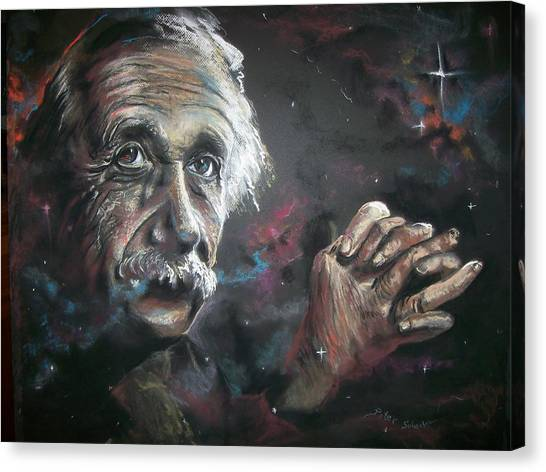 Color My Universe Canvas Print